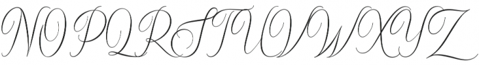 Sydnee otf (400) Font UPPERCASE
