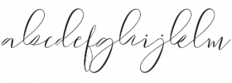 Sydnee otf (400) Font LOWERCASE
