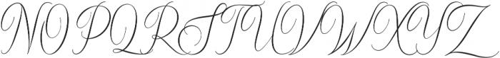 Sydnee ttf (400) Font UPPERCASE