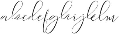 Sydnee ttf (400) Font LOWERCASE