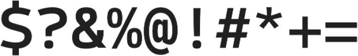Syke Mono Medium otf (500) Font OTHER CHARS