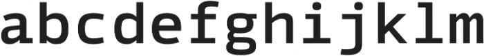 Syke Mono Medium otf (500) Font LOWERCASE