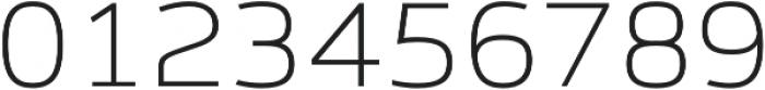 Syke Mono Thin otf (100) Font OTHER CHARS
