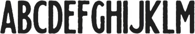 Sylvester Rough otf (400) Font LOWERCASE