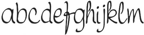Symca otf (400) Font LOWERCASE