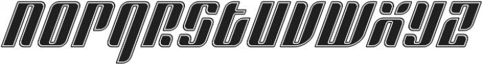Sympathetic 04 Body Inline Italic otf (400) Font LOWERCASE