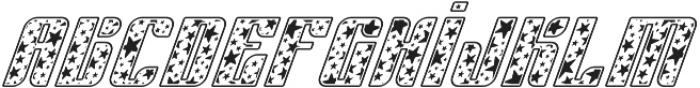 Sympathetic 06 Star Italic otf (400) Font LOWERCASE