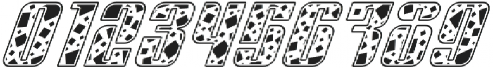Sympathetic 12 Square Italic otf (400) Font OTHER CHARS