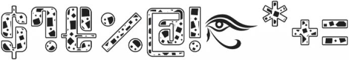 Sympathetic 12 Square otf (400) Font OTHER CHARS