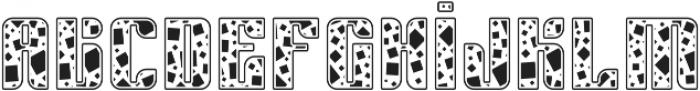 Sympathetic 12 Square otf (400) Font LOWERCASE