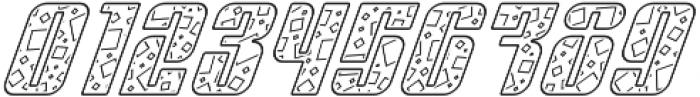 Sympathetic 13 Square Line Italic otf (400) Font OTHER CHARS