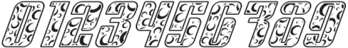 Sympathetic 16 Moon Italic otf (400) Font OTHER CHARS