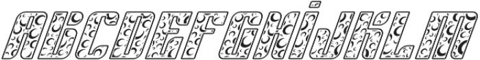 Sympathetic 16 Moon Italic otf (400) Font LOWERCASE