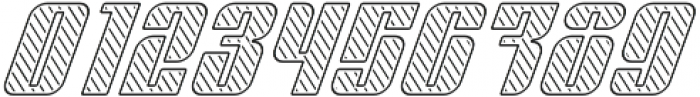 Sympathetic 20 Slant Left Line Italic otf (400) Font OTHER CHARS