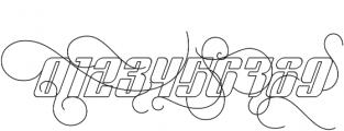 Sympathetic 24 Ornamental Italic otf (400) Font OTHER CHARS