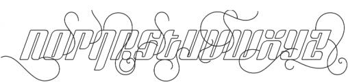 Sympathetic 24 Ornamental Italic otf (400) Font LOWERCASE