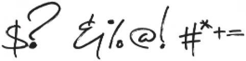 Symphoniesta Upright otf (400) Font OTHER CHARS