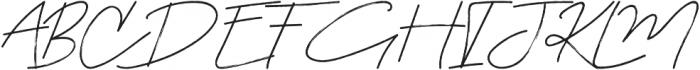 Symphoniesta otf (400) Font UPPERCASE