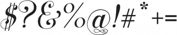 Symphony S11 otf (400) Font OTHER CHARS