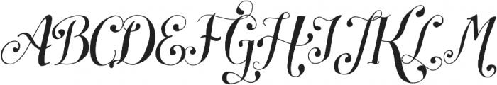 Symphony S11 otf (400) Font UPPERCASE