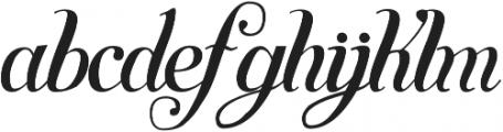 Symphony S11 otf (400) Font LOWERCASE