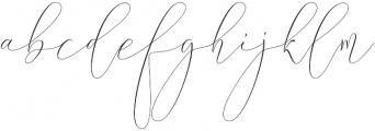 Syndicate Regular otf (400) Font LOWERCASE
