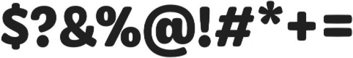 Syrup Sans Bold otf (700) Font OTHER CHARS