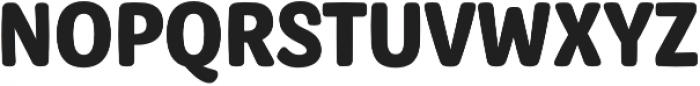 Syrup Sans Bold otf (700) Font UPPERCASE