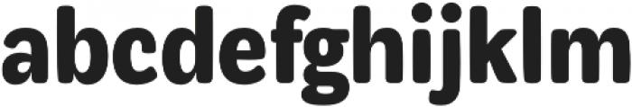 Syrup Sans Bold otf (700) Font LOWERCASE