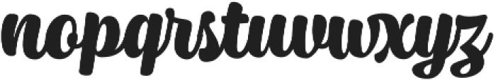 Syrup Script Bold otf (700) Font LOWERCASE
