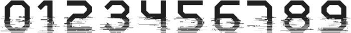 System Glitch otf (400) Font OTHER CHARS