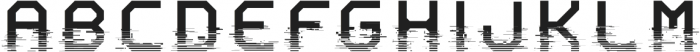 System Glitch otf (400) Font LOWERCASE