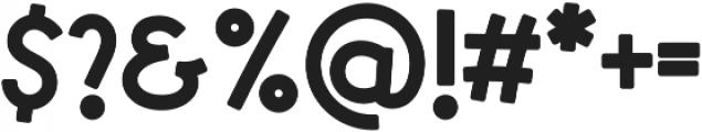 Syubidoo Bold otf (700) Font OTHER CHARS