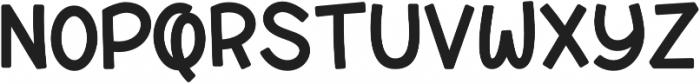 Syubidoo Bold otf (700) Font UPPERCASE