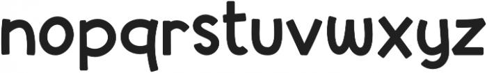 Syubidoo Bold otf (700) Font LOWERCASE