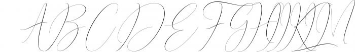 Syndicate Font UPPERCASE