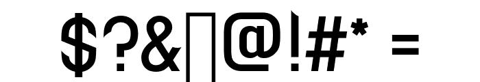 SYFYKrypton Font OTHER CHARS