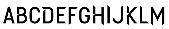 SYFYKrypton Font UPPERCASE
