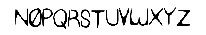 SYN_HAX Font UPPERCASE