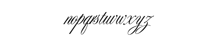 SybarisOpti-Supplement Font LOWERCASE