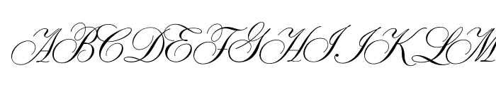 SybarisOpti Font UPPERCASE