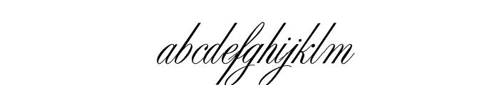 SybarisOpti Font LOWERCASE
