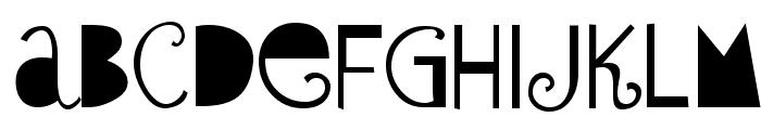 Sybil Green Font UPPERCASE