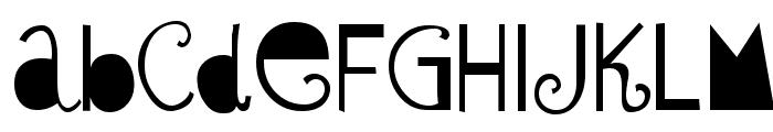 Sybil Green Font LOWERCASE