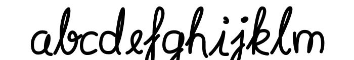 Syera InLine Font LOWERCASE