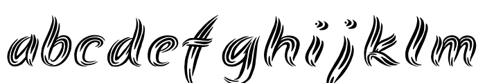 Symbiopsy Font LOWERCASE