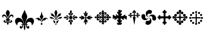 SymbolCrucifix Font UPPERCASE
