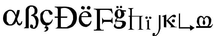 SymbolNerve Font LOWERCASE