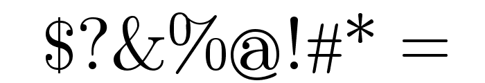 Symbola Font OTHER CHARS