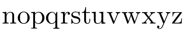 Symbola Font LOWERCASE